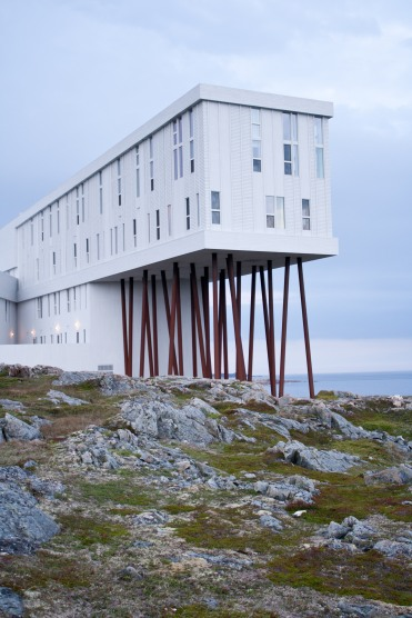 The Fogo Island Inn. I'm still in awe.